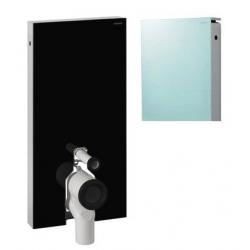 GEBERIT MONOLITH pre stojace WC - obj. č. 131.003.SK.1, matované (zelenkasté) sklo/plast, prívod vody z boku