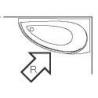 Hansgrohe sprchový panel na stenu Raindance Lift biela/chróm kód 27008400