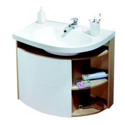 RAVAK Nábytkové umývadlo Rosa Comfort  Ľavé/Pravé, 780x550mm, XJ8P11N0000 (XJ8L11N0000)