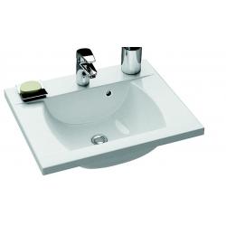 RAVAK Umývadlo Classic 600 biele s otvormi XJD01160000