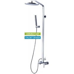 HOPA vaňová a sprchová batéria s príslušenstvom chrómová Garda 67 2806C