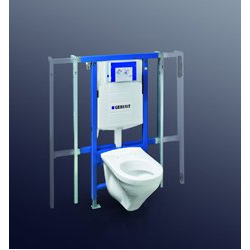 GEBERIT DUOFIX SPECIAL pre závesné WC s UP320,111.385.00.5  šírkovo nastaviteľný (80-130cm), stavebná výška 112cm,
