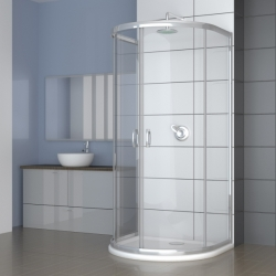 RADAWAY sprchová stena Premium Plus P 100x90 kod 33300-01-08N