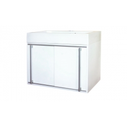 EDEN závesná skrinka s umývadlom z liateho mramoru TERA NEW kod TEN 01 xx yy