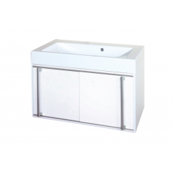 EDEN závesná skrinka s umývadlom z liateho mramoru TERA NEW kod TEN 03 xx yy