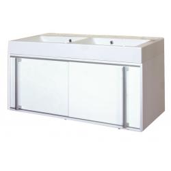 EDEN závesná skrinka s umývadlom z liateho mramoru TERA NEW kod TEN 05 xx yy