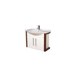 EDEN  závesná skrinka s keramickým umývadlom  VIRGO kod VI 01 xx yy zz