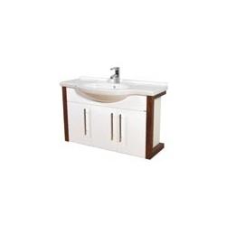 EDEN  závesná skrinka s keramickým umývadlom  VIRGO kod VI 03 xx yy zz
