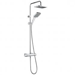 KLUDI sprchový systém s termostatom ESPRIT Dual Shower System kód 5609505-40 chróm