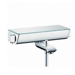 Hansgrohe Ecostat Select termostatická vaňová batéria na stenu biela/chróm kód 13141400