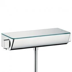 Hansgrohe Ecostat Select termostatická sprchová batéria na stenu biela/chróm kód 13161400