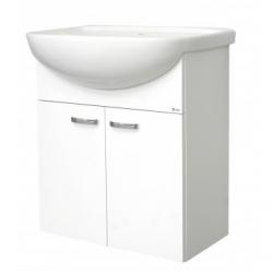 EDEN závesná skrinka s keramickým umývadlom 65 cm PLUS X kod PX 05 xx L1
