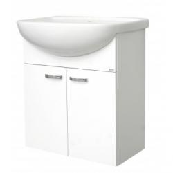 EDEN závesná skrinka s keramickým umývadlom 70 cm PLUS X kod PX 06 xx L1