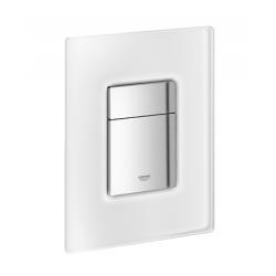 GROHE ovládacie tlačidlo pre WC chróm/da vinci biela SKATE COSMOPOLITAN kód 38845MFO