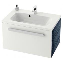 RAVAK skrinka pod umývadlo so zásuvkou SD Chrome 600 S-Onyx/biela kód X000000531