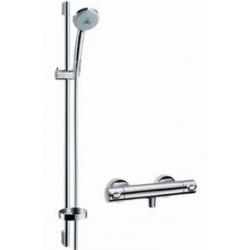 Hansgrohe sprchová sada s termostatom Croma 100 Multi/Ecostat 1001 SL, kombinácia 0,90 m chróm kód 27085000
