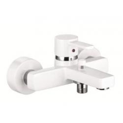 KLUDI vaňová a sprchová jednopáková batéria ZENTA chróm/white kód 386709175