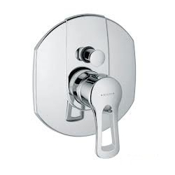 KLUDI podomietková vaňová a sprchová jednopáková batéria MX chróm kód 336570562