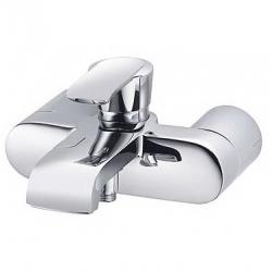 KLUDI vaňová a sprchová jednopáková batéria JOOP! chróm/sklo zelené kód 55443H775
