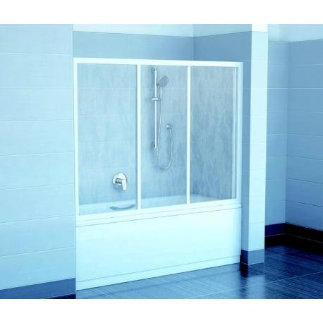 RAVAK AVDP3 170 vaňové dvere, posuvné trojdielne, bezpečnostné sklo