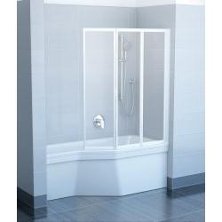 RAVAK VS3 100 vaňová zástena skladacia trojdielna, rozmer: 996x1400mm, bezpečnostné sklo
