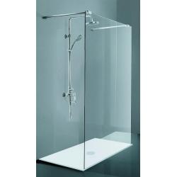 BATH CONCEPT sprchový kút bezrámový WetRoom CALEDON 1000 x 2000