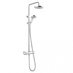 KLUDI sprchova suprava THERMOSTAT DUAL SHOWER SYSTEM A-QA chróm kód 6609505-00