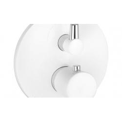 KLUDI vaňová a sprchová termostatická POD batéria biela/chróm 528309175