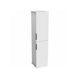 KOLO Twins skrinka vysoká biela/biela lesk 140 cm kod KOL88401000