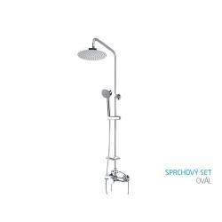 Sprchový set oválny