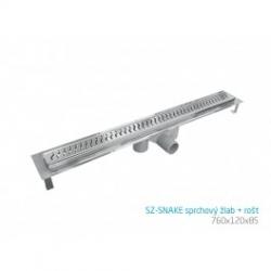 SZ-SNAKE sprchový žľab