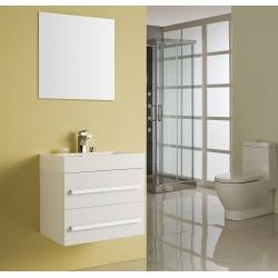 BATH FURNITURE skrinka s umývadlom FLORENCIA  570x460x550 mm - biela