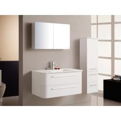 BATH FURNITURE kúpeľňová zostava veľká PALERMO - biela