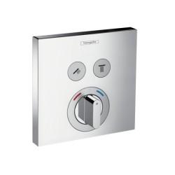 Hansgrohe Shower Select batéria pod omietku pre 2 spotrebiče - chróm, kód 15768000