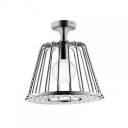 AXOR LampShower 1jet s napojením od stropu a dizajnom Nendo, chróm 26032000