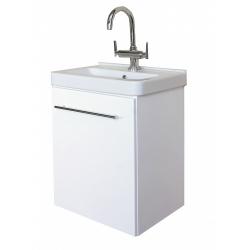 EDEN  závesná skrinka s keramickým umývadlom  LIBRA kod LB 02 P/L xx yy