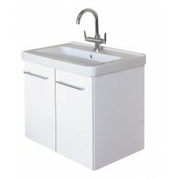 EDEN  závesná skrinka s keramickým umývadlom  LIBRA, kód LB 06 xx yy