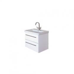 EDEN  závesná skrinka s keramickým umývadlom  LIBRA, kód LB 04 ZZ xx yy