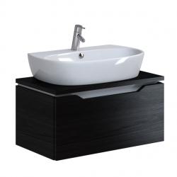 OPOCZNO skrinka pod umývadlo STREET FUSION 60, čierne drevo  OS579-004
