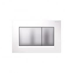 Geberit Sigma 30 tlačítko biela/matný chróm/matný chrom 115.883.KL.1