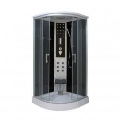 Sanotechnik QuickLine sprchový box štvrťkruh Dream s elektronikou 90x90cm