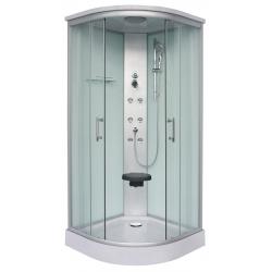 Sanotechnik QuickLine sprchový box štvrťkruh Rumba 90x90x215 cm