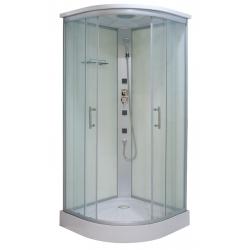 Sanotechnik QuickLine sprchový box štvrťkruh Tango 90x90x210 cm