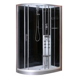 Sanotechnik QuickLine sprchový box obdĺžnik Vario pravý - 80x120cm