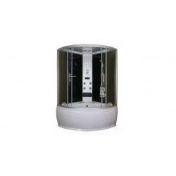 Sanotechnik sprch.box štvrťkruh s vaňou Cuba -130x130x228cm