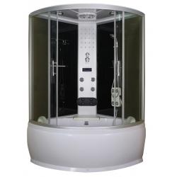 anotechnik sprchový box štvrťkruh s vaňou Salsa - 120/130 cm