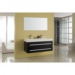 BATH FURNITURE skrinka s umývadlom FLORENCIA 1200x520x550 mm - čierna