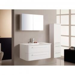 BATH FURNITURE kúpeľňová zostava veľká PALERMO - biela.