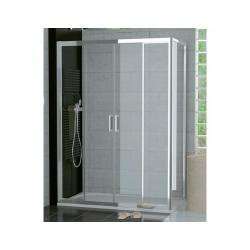 Ronal TOP-Line-Dvojdielne posuvné dvere s 2 pevnými stenami v rovine