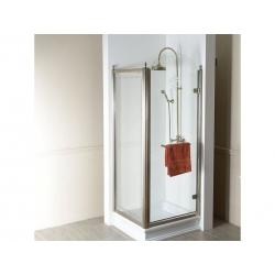 Antique 80x90cm,bronz,obdĺžniková sprchová zástena,P varianta